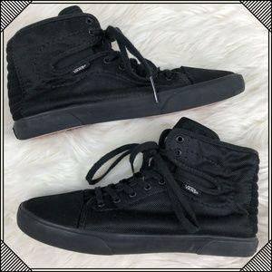 * Vans High Tops * Black Hadley Lace Up Shoes *